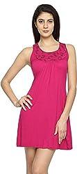 Texco Garments Women's A-Line Dress (14, Pink, XL)