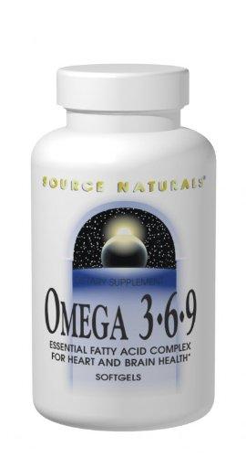 Source Naturals Omega 3, 6, 9, 120 Softgels