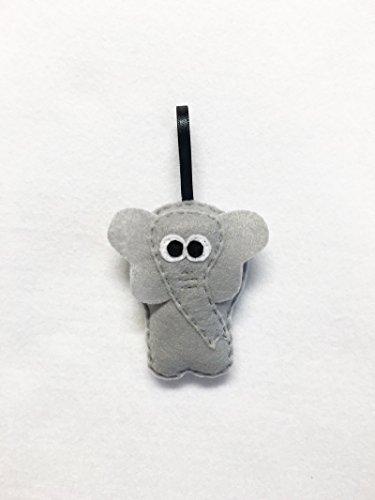Elephant Christmas Ornament, Eleanor the Elephant