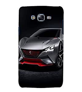 printtech Superfast Car Back Case Cover for Samsung Galaxy A3 / Samsung Galaxy A3 A300F