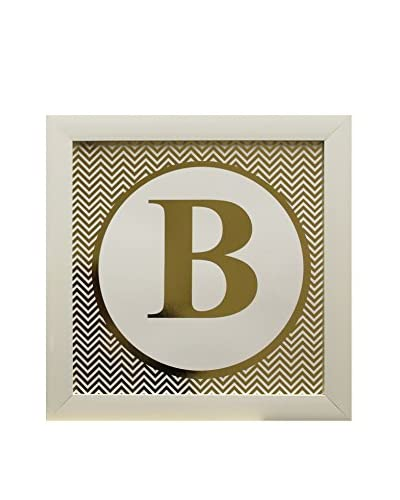 Star Creations Gold Foil Letter Collection Letter B, 14 x 14