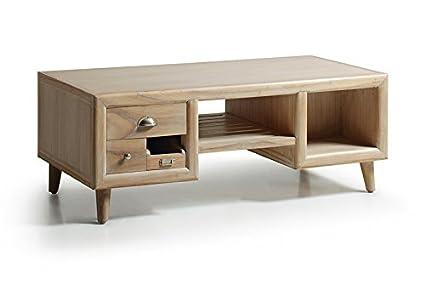 Table basse au style nordique : Collection BROMO grande 120x45x60cms