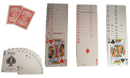US Playing Card Company Rummy, Bicycle (2 Decks) - 1