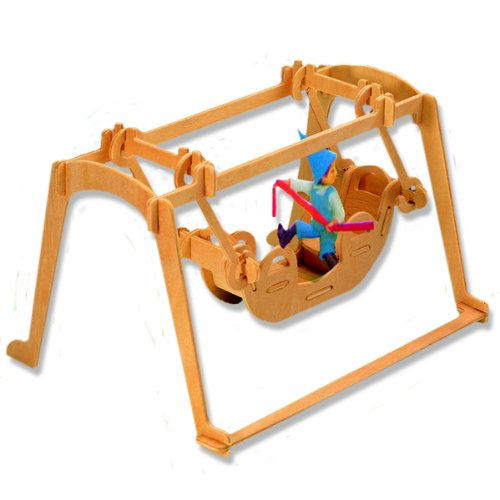 3-D Wooden Puzzle - Small Pirate Ship -Affordable Gift for your Little One! Item #DCHI-WPZ-P034