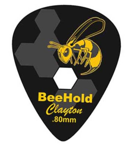 Clayton Picks Beehold BHS80/6 Guitar Picks