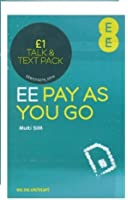 EE Multi Sim trio Pay As You Go Sim Pack