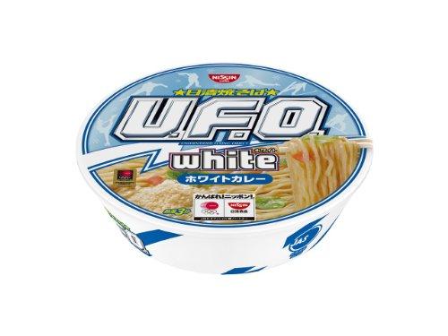 日清 焼きそば U.F.O. white ホワイトカレー 123g×12個