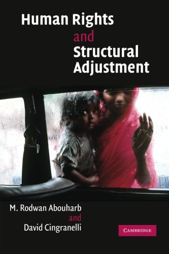 Human Rights and Structural Adjustment Paperback