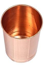 SHIV SHAKTI ARTS India Ayurveda Healing Drinkware Copper Tumbler Glasses
