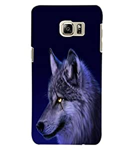 ColourCraft Scary Fox Look Design Back Case Cover for SAMSUNG GALAXY NOTE 5 EDGE