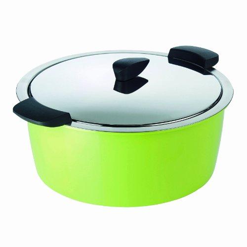 Kuhn Rikon Hotpan Braiser 4.5 Quart, Green