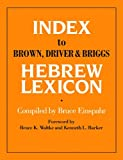 Index To Brown, Driver, & Briggs Hebrew Lexicon