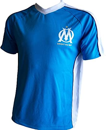 Maillot T-shirt supporter OM - Collection officielle - OLYMPIQUE DE MARSEILLE - Football club Ligue 1 - Taille adulte