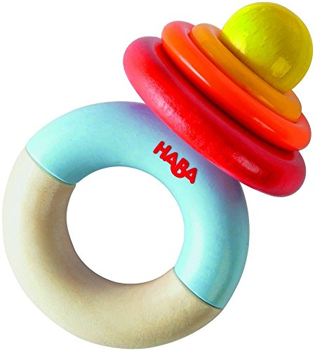 HABA Wooden Ringi Baby Clutching Toy