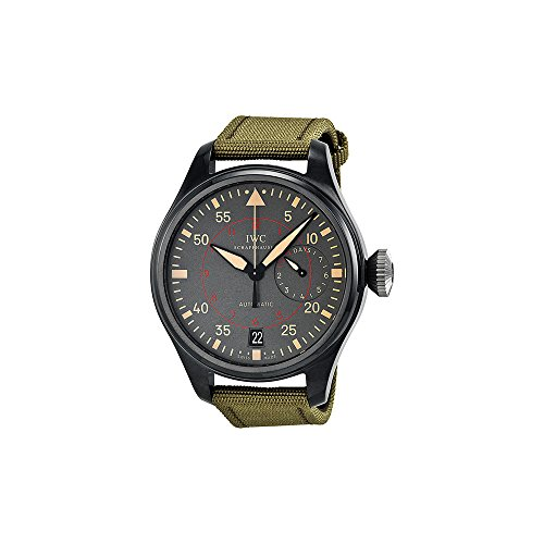 IWC MEN'S BIG PILOTS TOP GUN MIRAMAR 48MM CLOTH BAND AUTOMATIC WATCH IW501902