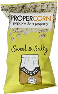 PROPERCORN Sweet & Salty Popcorn (Pack of 24)