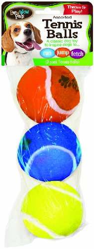 Artikelbild: Bow Wow Tennis ball, 3-Pack, 2-1/2-Inch by Bow Wow