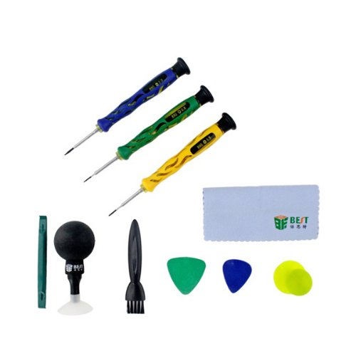 Best Bst-601D 10-In-1 Professional Repairing Tool Kit(+1.5,-2.0,T4)