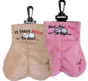 It Takes Balls to Golf His and Her Gift Set by MySack