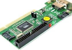 VIA Chipset 3 Port SATA +1 IDE PCI Controller RAID Card Adapter