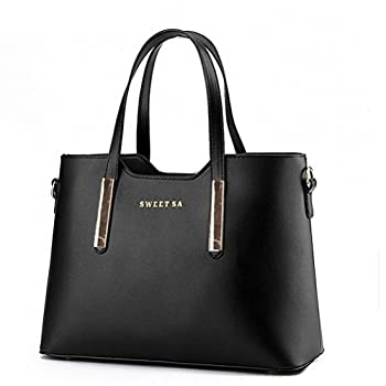 Fashion Road Genuine Leather Womens Shoulder Bags Top-Handle Handbag Tote Purse Bag