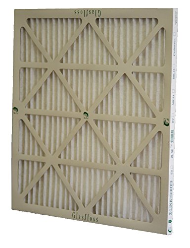 Glasfloss Industries ZLP16254 Z-Line Series ZL MERV 10 Pleated Filter, 6-Case