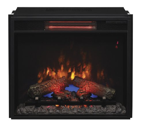 Classic Flame 23Ii310Gra Infrared Spectrafire Plus Insert With Safer Plug, 23-Inch