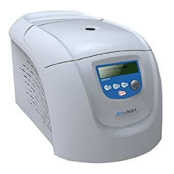 Scilogex 92201513 D3024R High Speed Refrigerated Micro-Centrifuge, -16 to -40 Degree C, 30 Seconds - 99mins, 24 Place Rotor