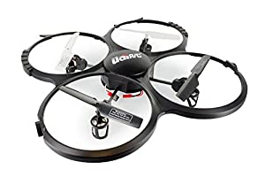UDI U818A 2.4GHz 4 CH 6 Axis Gyro RC Quadcopter with Camera RTF Mode 2 with 2GB SD CARD included by UDI RC