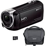 SONY HDRCX405BKIT FULL HD 60P CAMCORDER BUNDLE