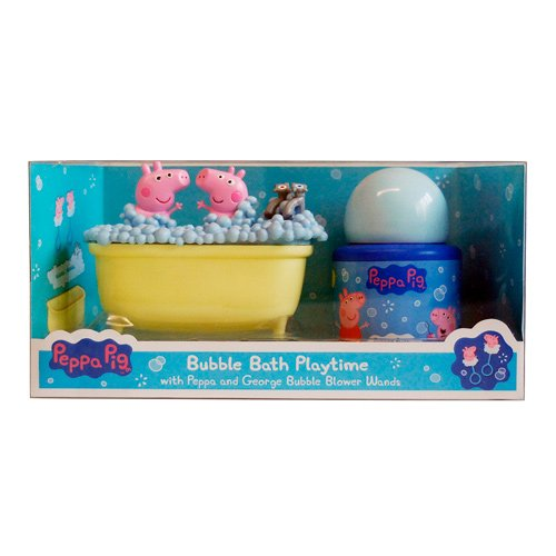 Peppa Pig Bubble Bath Playtime Gift Set