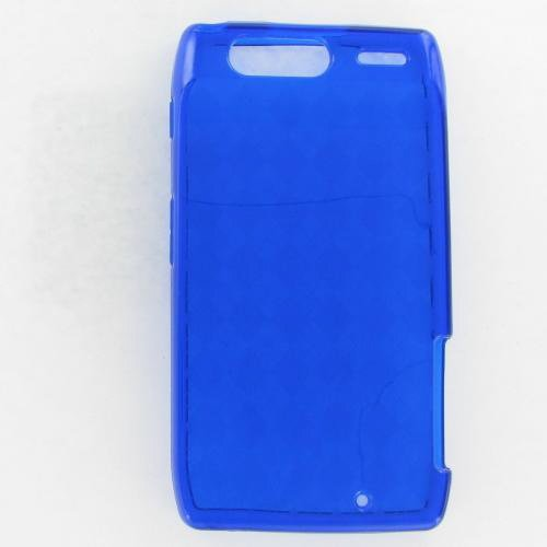 Motorola XT912 (Droid Razr) Crystal Blue Skin Case keep calm and carry on distressed motorola droid 2 skinit skin