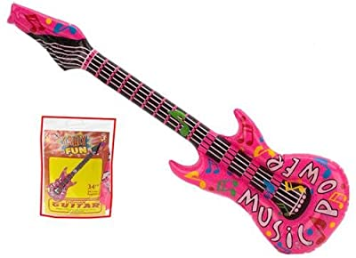 "Inflatable 34"" Music Power Rock Guitar"