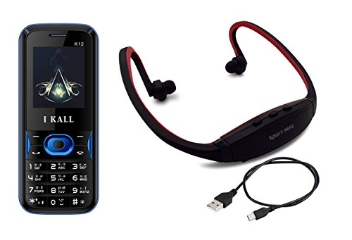 I Kall K12 Bar Mobile Phone & MP3 Neck Band Combo