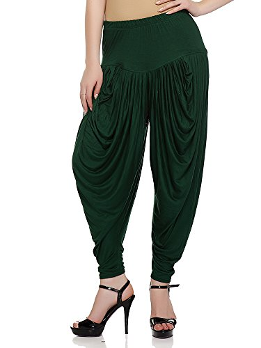 Sakhi Sang Bottle Green Dhoti Salwars