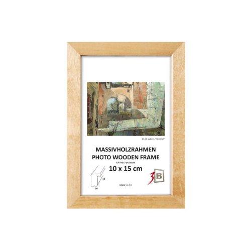 cadres cadre aga w naturel carr 30x30 cm cadre en bois cadre photo. Black Bedroom Furniture Sets. Home Design Ideas