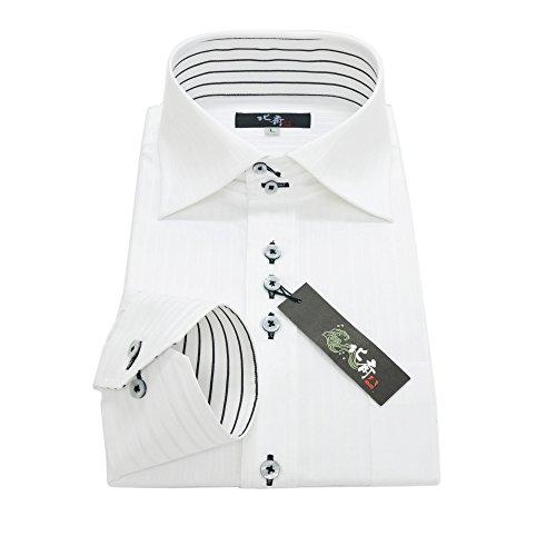 """夏に着たいメンズの""""おすすめ白シャツ""""選び:定番だからこそ、細かい使い分けが男を""""分ける"""" 4番目の画像"""