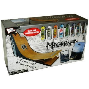 Tech Deck Mega Ramp Value Pack - MegaRamp + 8 Fingerboards