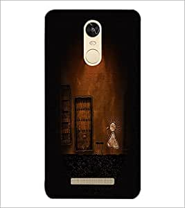 PrintDhaba Funny Image D-4441 Back Case Cover for XIAOMI REDMI NOTE 3 PRO (Multi-Coloured)