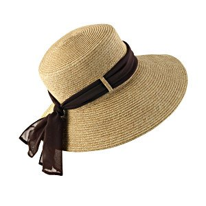 Coolibar UPF 50+ Women's Tropicana Sun Hat (Natural - One Size)