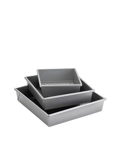 Cake Boss 3-Piece Square Cake Pan Set