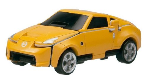 Bandai VooV VS08 Transforming Toy Car [Nissan Fairlady Z - Tochigi Prefectural Police Patrol Car (Ver.NISMO)] (Nissan Z Toy Car compare prices)