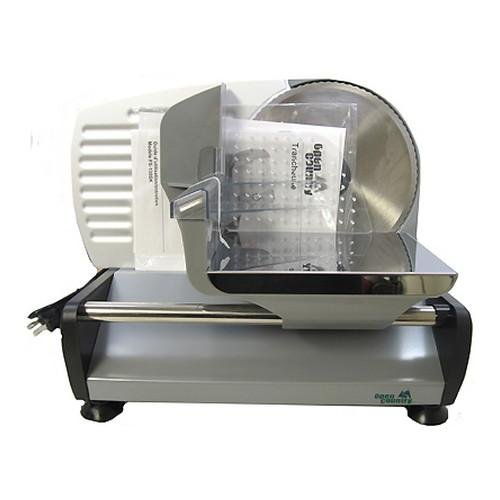 Open Country Stainless Steel Blade 130W Food Slicer, 7.5-Inch