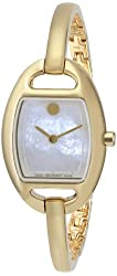 Movado Women's 0606608 Miri Gold-Plated Stainless Steel Bangle Watch