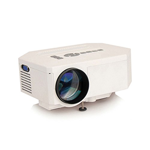 Amjimshop(Tm) 1200Lumens 1080P Hd Home Theater 3D Hdmi Usb Video Game Led Lcd Mini Projector