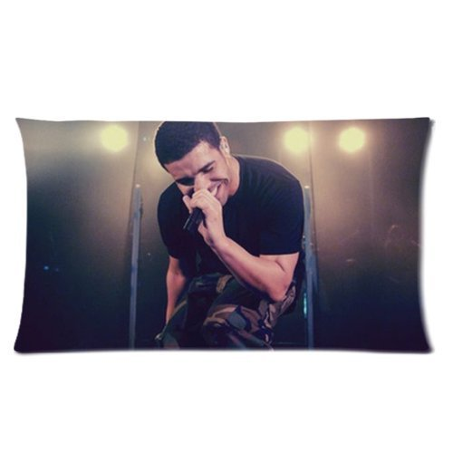 Generic Custom Canada Rapper Drake Aubrey Drake Graham Traffic Light Printed Zippered Pillowcase Cushion Cover 20*36(Twin Sides) front-1059957