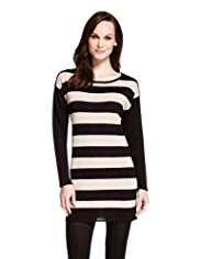 M&S Collection Striped Knitted Dress