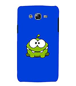printtech Om Nom Cartoon Back Case Cover for Samsung Galaxy A8 / Samsung Galaxy A8 A800F