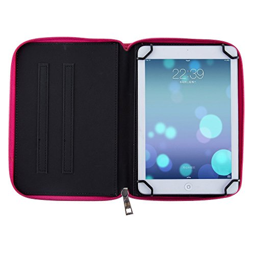 Casezilla Sanei N785 Android Tablet 360 Rotating Universal EVA Hard Shell Folio Case - Cute Pink from Electronic-Readers.com