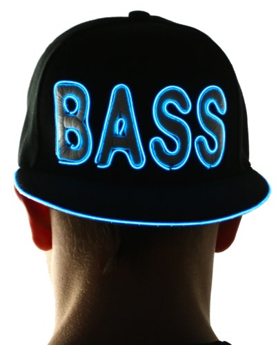 Light Up Hat - Bass (Aqua)
